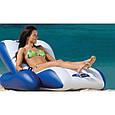 Кресло-шезлонг надувное пляжное Intex 58868 (180х135 см), фото 5