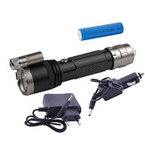 Фонарь Police 12V 9847-XPE, лазер (блистер), фото 2