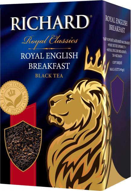 Чай черный Richard Royal English Breakfast 90 гр.