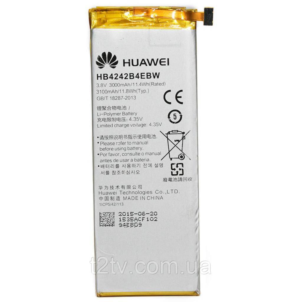 Аккумуляторная батарея PowerPlant Huawei Honor 6 (HB4242B4EBW) (DV00DV6270)