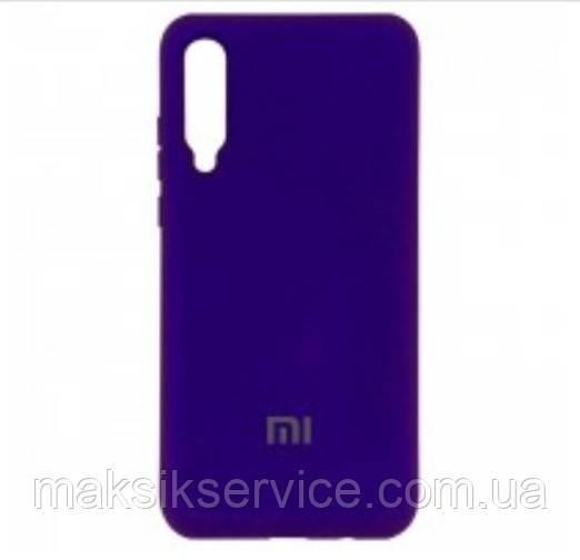 Чехол Silicone Cover Full Protective Xiaomi Mi9 SE purple