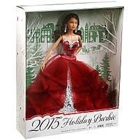 Кукла Барби коллекционная праздничная 2015 / Barbie Holiday African American , фото 2