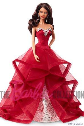 Кукла Барби коллекционная праздничная 2015 / Barbie Holiday African American