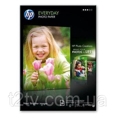 Папір HP A4 Everyday Photo Paper Glossy (Q2510A)