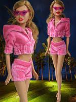 Одежда для кукол Барби - курточка и шорты