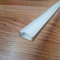 Профиль для светодиодной ленты ЛП7 анодированный + рассеиватель Поликарбонат, фото 1