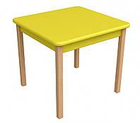 Детский столик Верес дерево/пленка МДФ желтый 29.2.17