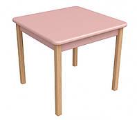 Детский столик Верес дерево/пленка МДФ розовый 29.2.20