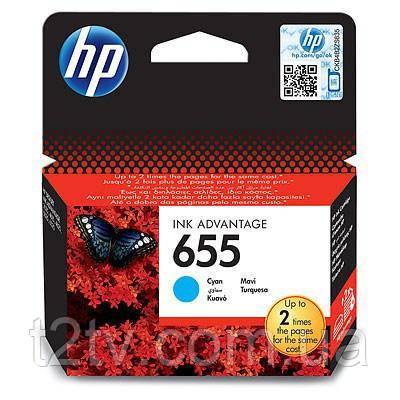 Картридж HP DJ No.655 Cyan DJ4615/4625/3525 (CZ110AE)