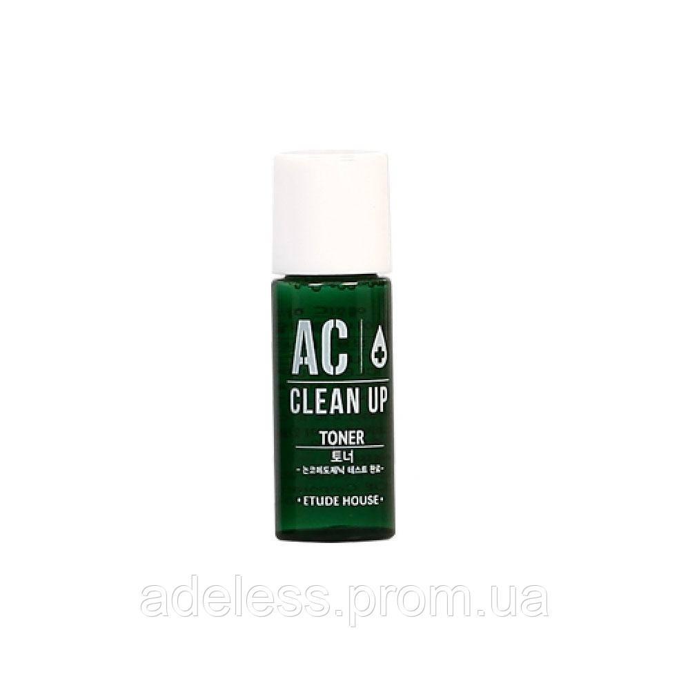 Тонер для проблемной кожи ETUDE HOUSE AC Clean Up Toner. Пробник 5 мл