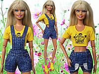 Одежда для кукол Барби - комбинезон и майка