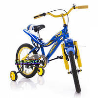 Детский велосипед Azimut ksr premium 16
