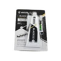 Герметик прокладок 85гр черный AXXIS + клей в подарок