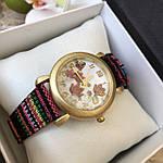 Женские наручные часы с цветочным принтом, фото 2
