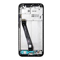 Xiaomi Redmi 7 дисплейный модуль с рамкой (экран + тачскрин сенсор) черный