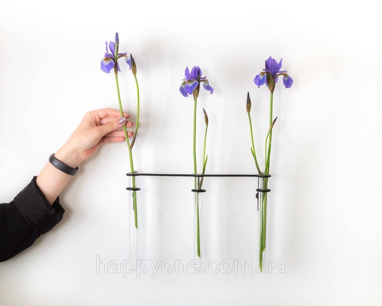 Настінна ваза Three plants