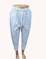 ⚛️  Брюки женские летние в полоску, полосатые модные брюки, фото 1