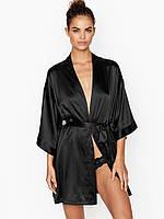 Шелковый халат-рубашка в стиле кимоно  Short Satin Kimono от Victoria's Secret