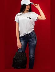 Футболка женская Karl Lagerfeld нежно-голубой, фото 2