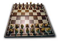 """Набор 2 в 1: Шахматы+нарды """"Классика"""", ясень 51см"""