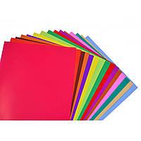 Набір №3 кольорового паперу двостороннього двокольорового А4 (15 арк), Виробник: 1 вересня