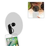 Міні вентилятор для телефону micro USB / Lightning, фото 8