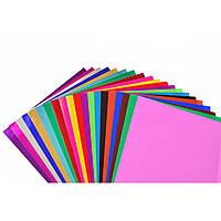 Набір № 36 кольорового паперу мiх. А4 (20 арк) Виробник: 1 вересня