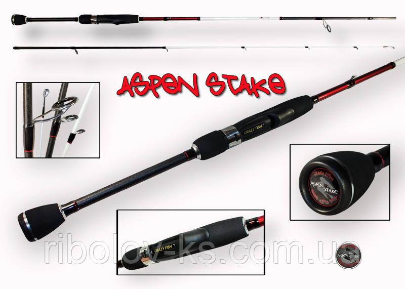 """Спиннинг Aspen Stake AS812MHT (15-55g 240cm 8'1""""129g)"""