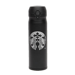 Термос Starbucks 500 мл black, фото 2