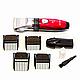 Профессиональная машинка для стрижки Gemei GM-6001 (Белая и красная), фото 10