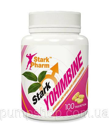 Жиросжигатель йохимбин Stark Pharm Yohimbine 10 мг 100 таб., фото 2
