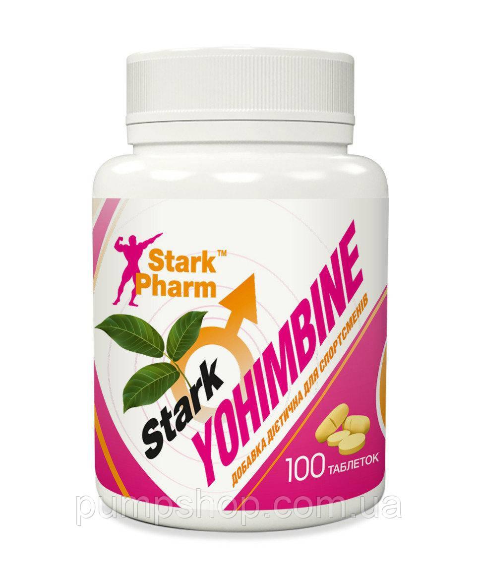 Жиросжигатель йохимбин Stark Pharm Yohimbine 10 мг 100 таб.