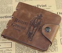 Стильный кожаный мужской кошелек Bailini