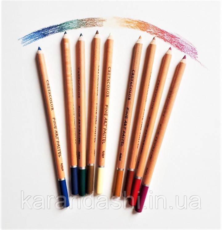 Олівець пастельний, Білий цинковий, Cretacolor, 90747102