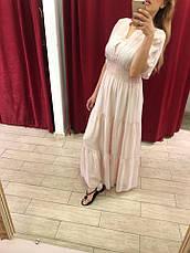 Женское платье Италия нежно-розовое макси, фото 3