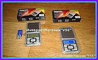 Кишенькові ювелірні електронні ваги 0,1-500 гр, фото 1