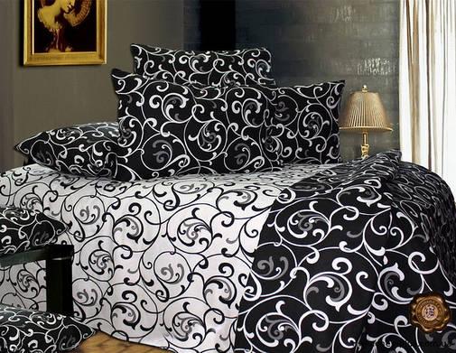 Комплект постельного белья полуторный 150*220 хлопок (3905) TM KRISPOL Украина, фото 2