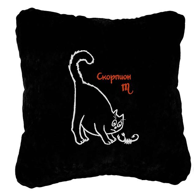 """Подарочная подушка """"Скорпион"""""""