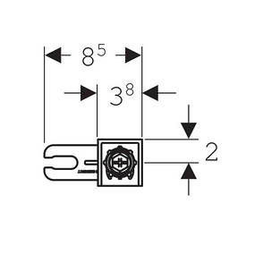 Duofix Комплект крепления к стене, фото 2