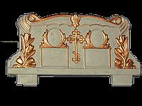 """Ритуальные памятники """"Двойной (на гробницах или тумбах с цветниками)"""", Код 31"""