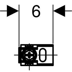 Duofix Комплект крепления к стене при угловом монтаже, фото 2