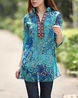 Платье-туника в индийском стиле