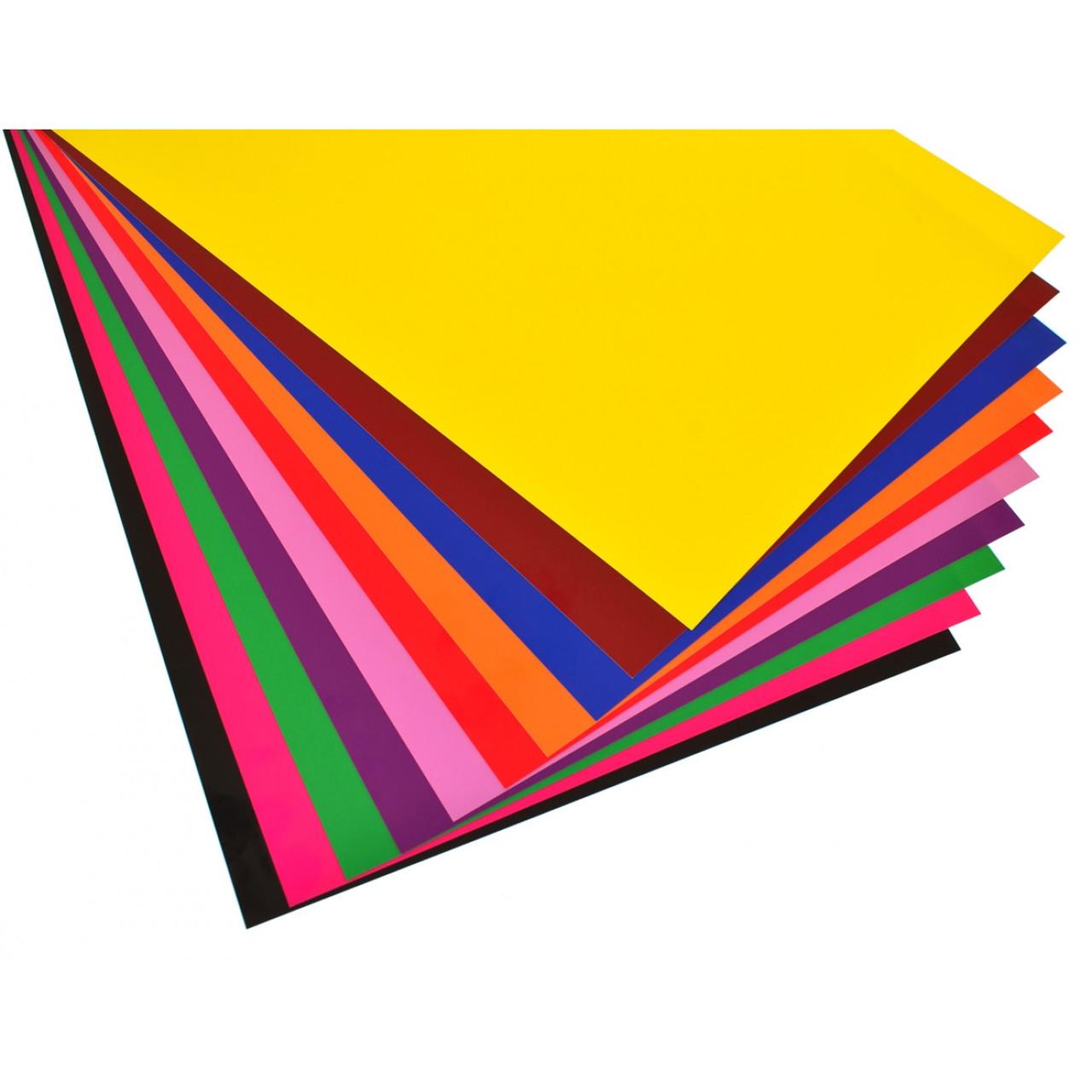 Набір №27 кольорового картону крейдованого А3 (10 арк), , Виробник: 1 вересня