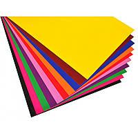 Набір №27 кольорового картону крейдованого А3 (10 арк), , Виробник: 1 вересня, фото 1