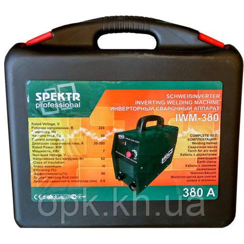 Сварочный инвертор Spektr Professional IWM 380