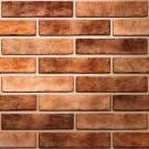 SEVEN TONES Оранжевый Плитка BRICKSTYLE 250*60*10 1 СОРТ