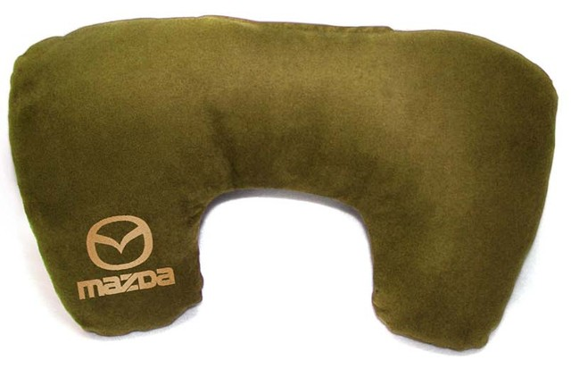 """Подушка рогалик """"Mazda"""""""