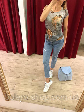 Футболка женская Dolce & Gabbana ангелочки, фото 3
