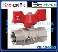 SD Forte кран шаровый  PN 40 1/2 БГГ вода