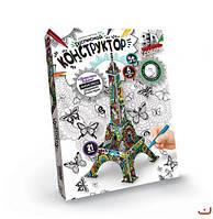 """Расписной конструктор """"Эйфелева башня"""" 3DK-01-05"""